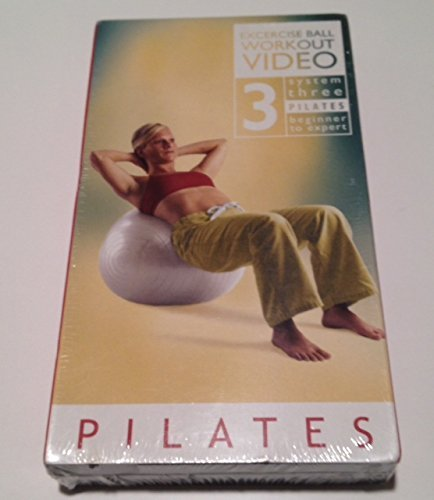 Pilates: Exercise Ball Workout Video, System Three Pilates, Beginner to Expert, with Denise Druce (1 VHS Tape, New in Shrink Wrap) by 2002, TerraStar International Inc.