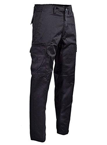Robuste + Komfortable US Style Rangerhose (Schwarz/L)