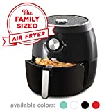 Dash DFAF455GBBK01 Deluxe Electric Air Fryer + Oven Cooker with Temperature Control, Non Stick Fry...