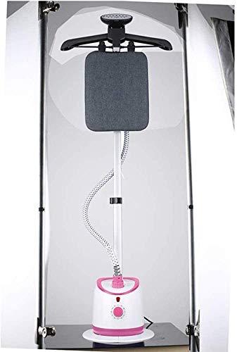 Colgando de planchado al vapor de la máquina máquina de mano del hogar colgantes plancha de ropa de planchado Pequeño colgantes caliente máquina de planchar (Color: Upgradedwhiteandpink) lalay