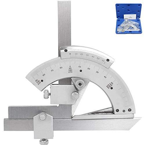 Nonius-Winkelmesser,0-320° Universal-Winkelmesssucher,Linealwerkzeug Aus Edelstahl Zur Messung Von Innen- Und Außenwinkeln Verschiedener Formteile