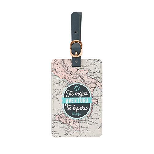 Etiqueta equipaje - Tu mejor aventura te espera