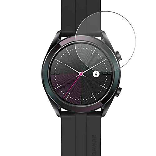 Vaxson Protector de Pantalla de Cristal Templado, compatible con Huawei Watch GT Active, 3 Unidades 9H Film Screen Protector