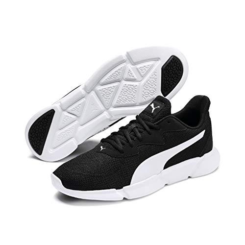 Puma Unisex-Erwachsene Interflex Runner Sneaker, Schwarz Black White, 43 EU