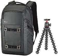 Lowepro Freeline BP 350 AW Backpack with Joby Gorillapod 3K Kit, Black