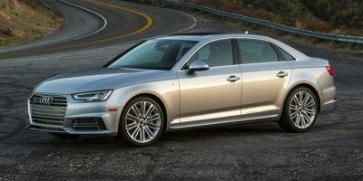 Representative 2018 A4 Quattro shown. Audi