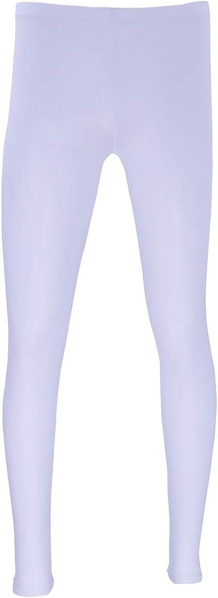 YOOJOO Men's Ice Silk Long John Sport Thermal Underwear Sleeep Pajamas Pants Legging Bottoms