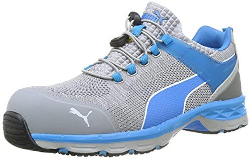 PUMA Safety Unisex PU643860-43 Leichtathletik-Schuh, Grigio/Blu, 43 EU