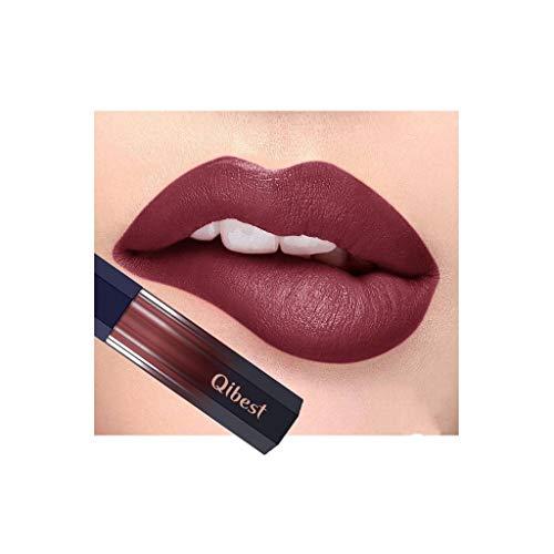 SoundJA Lippenstift Set Wasserfest - Antihaft-Tasse Flüssiger Matter Lippenstift Langlebig Kein Ausbleichen Einfach Anzuwenden Lipgloss Lippenglasur