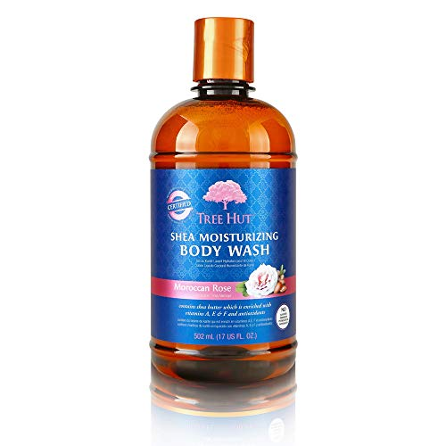 Tree Hut Moroccan Rose Gel Body Wash