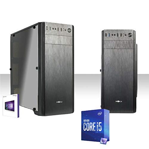 Pc Desktop Intel I5-10600K Fino A 4.8Ghz Sixcore Hd 1Tb Ram Ddr4 8Gb 2666Mhz Wifi 300Mbps Licenza Windows 10Pro Lettore Dvd-Cd Editing,Ufficio,Grafica,Completo,Pc Fisso