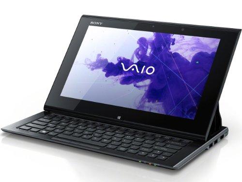ソニー(VAIO) VAIO Duo 11 (W8 64/Ci5/11.6FHD/タッチ/4G/SSD128/WLAN/BT/WiMAX/Office) ブラック SVD11219CJB