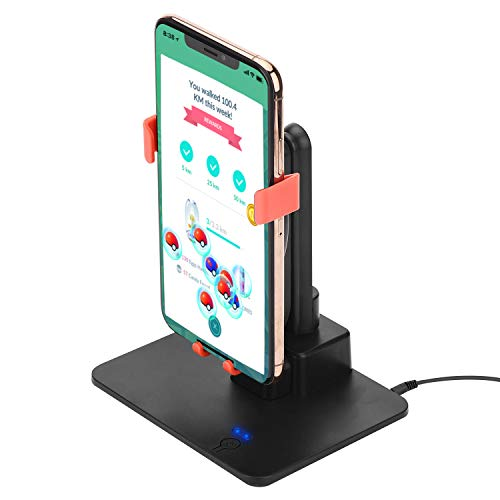 MOPEI New Version Phone Swing Device Hatching Eggs or Buddy Candy in Pokemon Go, Compatible with iOS And Android