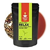 Nutty Yogi Green Herbal Relax Tea | 50g | Chai with Herbs I