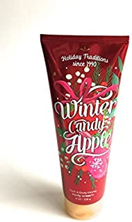 Bath and Body Works, Signature Collection Ultra Shea Body Cream, Winter Candy Apple, 8 Ounces