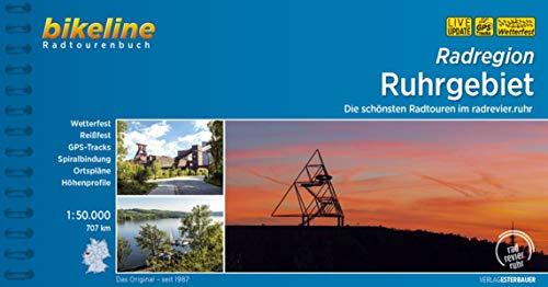 Radregion Ruhrgebiet: Die schönsten Radtouren im Ruhrgebiet, 1:50.000, 707 km, wetterfest/reißfest, GPS-Tracks Download, LiveUpdate: Die schnsten ... LiveUpdate (Bikeline Radtourenbücher)