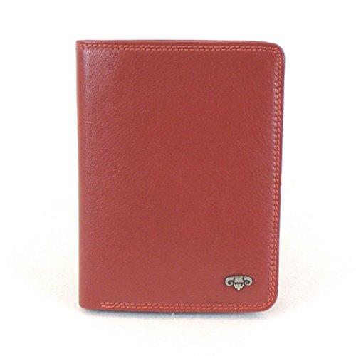 HGL Kreditkartenetui Ausweishülle Rot 6012-07 Damen Portemonnaies Geldbeutel Geldtasche Börse