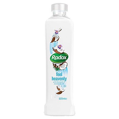 Radox Feel Heavenly Bath Soak with Coconut & Milk, 500ml