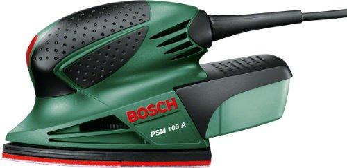 BOSCH 06033B7070 PSM 100 A Multi-Sander, Bosch Green, 21.0 cm*10.0 cm*12.0 cm