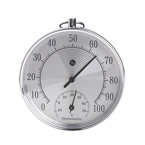 Indoor Outdoor Analoges Thermometer Hygrometer Temperatur-Feuchte-Messgerät HT9100