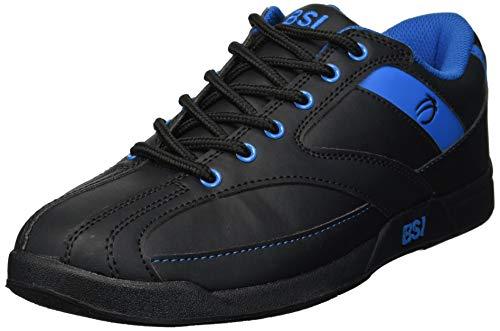 BSI Men's Sport Bowling Shoe , Black/Blue , 9.5