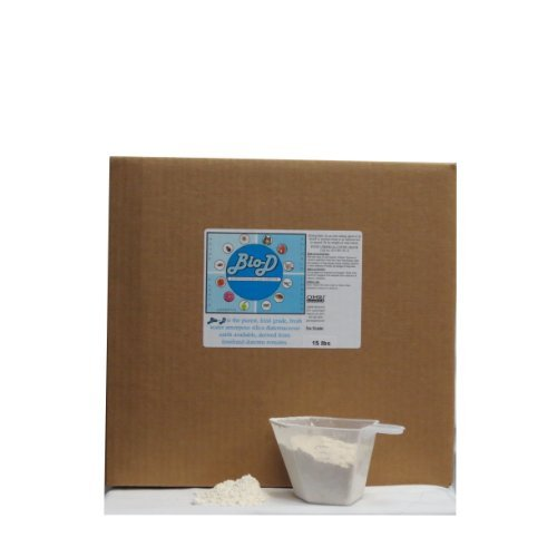 Ginesis Bio-D (15-Pound Box) Food Grade...
