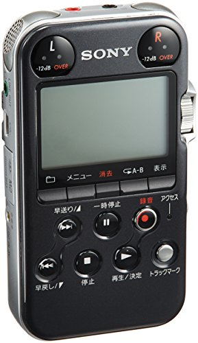 Sony PCM-M10/B Portable Linear PCM Recorder, 96 kHz/24-bit, 4GB Memory & USB High-Speed Port, Red - Bundle With Sony ADPCM2 Wind Screen for PCM-M10