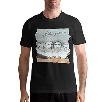 Nancy J Evans The Highwaymen Highwayman Men s Teen and Adult Crew Neck T-Shirts L Black