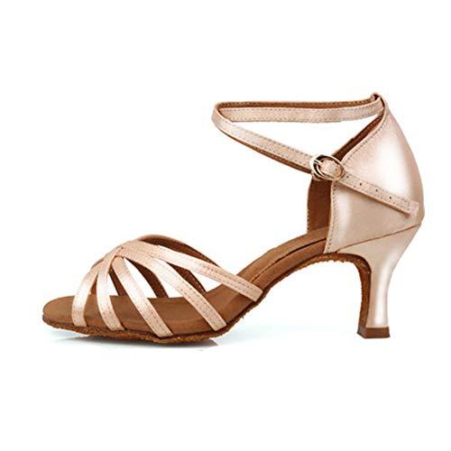 HIPPOSEUS Chaussures de Danse de Salon Femme Talons de...