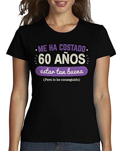latostadora - Camiseta 60 Años para para Mujer