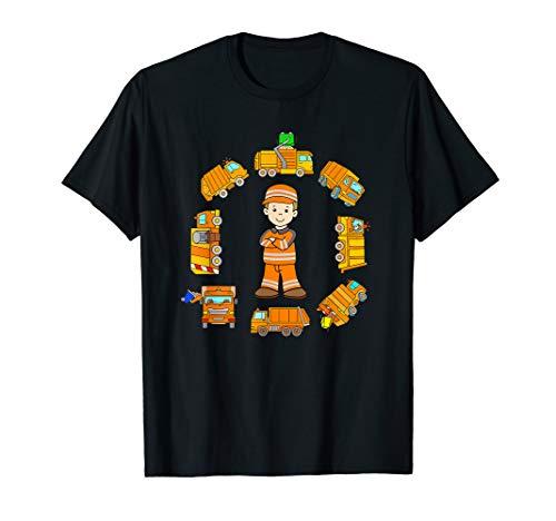 Müllmann Shirt Kinder Junge T-Shirt