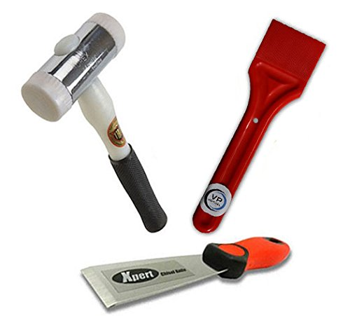 Virtual Plastics Glazing Kit - Xpert Chisel, Glazing Paddle and Thor 710 Nylon Hammer by Virtual Plastics