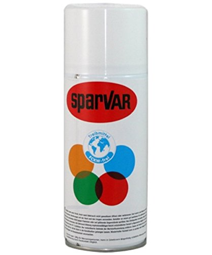 SparVar 6013015 Klarlack Spray Kristall Klar, 400 ml