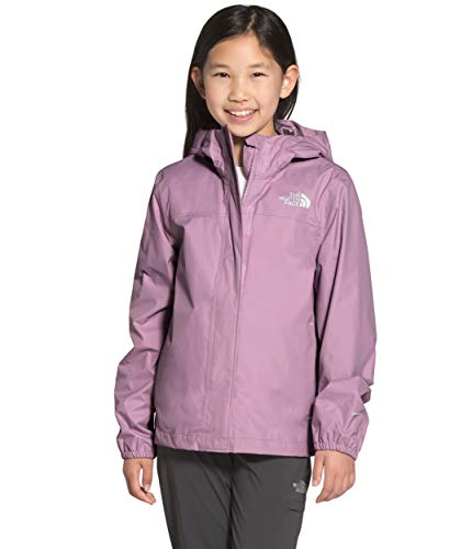 The North Face Girls' Resolve Reflective Jacket, Sweet Lavender, XL