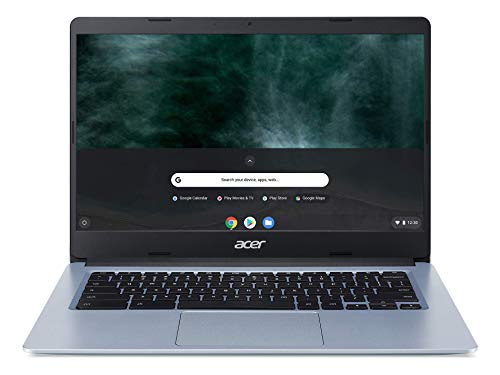 "Acer Chromebook 314, Intel Celeron N4000, 14"" Full HD Display, 4GB LPDDR4, 64GB eMMC, Gigabit WiFi, Google Chrome, CB314-1H-C884"