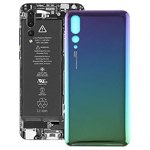 XINGCHEN Piezas de Repuesto Tapa Trasera for Huawei P20 Pro (Negro) (Color : Twilight)