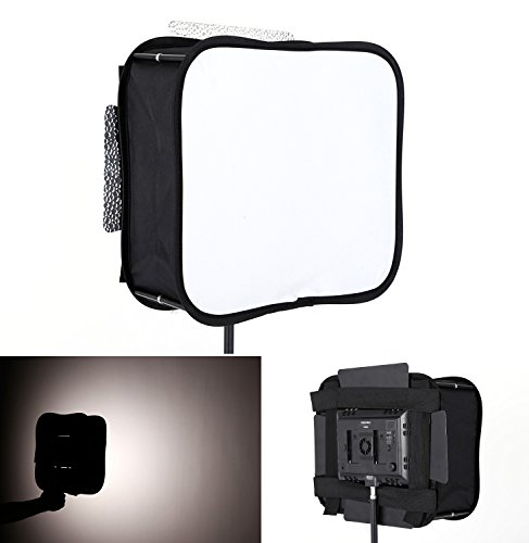 SB600 Softbox Diffuser for YONGNUO YN600L II YN900 Led Video Light Panel Foldable Portable Soft Filter with ULANZI Clean Cloth