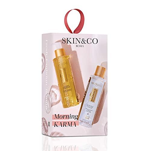 SKIN&CO Roma Morning Karma, Cofanetto Detergente