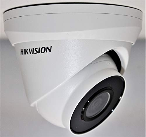 HIKVISION 4MP H.265+ POE IP Camera Built-in MicroSD Slot 2.8mm [One Year Replacement Warranty]