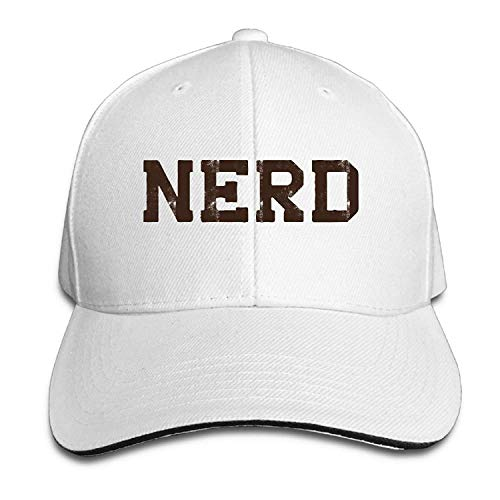 LoveBiuBiu Nerd Cotton Adjustable Peaked Baseball Cap Adult Sandwich Hat