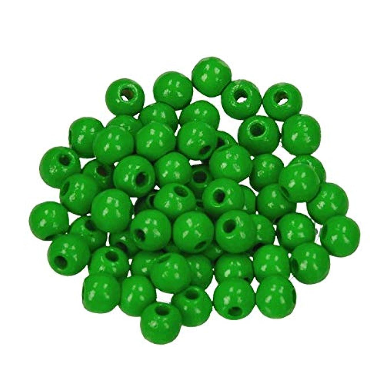 Efco 6 mm 110-Piece Wooden Beads Hole, Apple