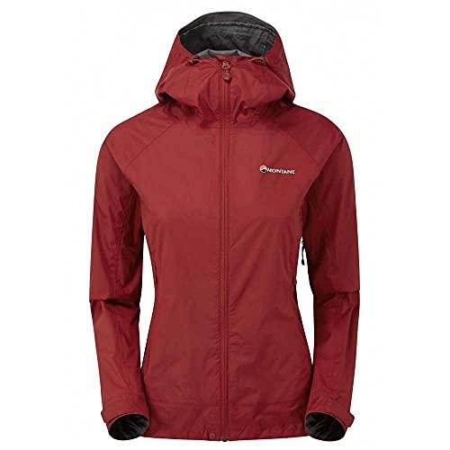 Montane Damen Women's Meteor Jacket Regenjacke Rot 42