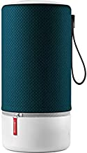Libratone Zipp WiFi Bluetooth Smart Speaker, 360° Loud Stereo Sound with Dual Mic Build-in, 15W Woofer Deep Bass, 12 Hour Playtime, Airplay2 and Spotify Connect, Compatible with Alexa(Atlantic Deep)