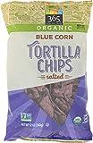 365 Everyday Value, Organic Blue Corn Tortilla Chips, Salted, 12 oz