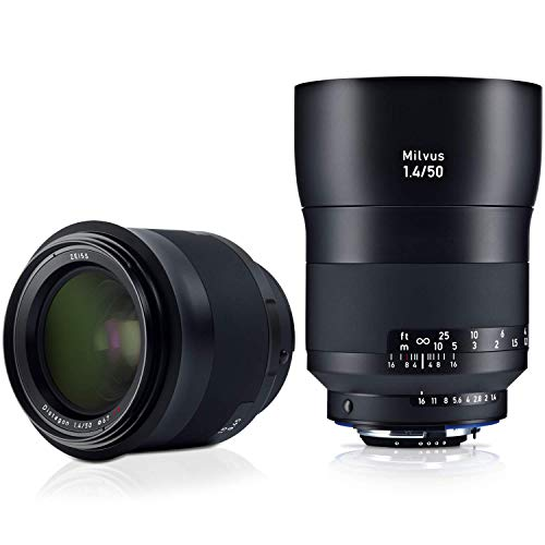 Zeiss Milvus 50mm f/1.4 ZF.2 Lens for Nikon F, Black (2096-556)