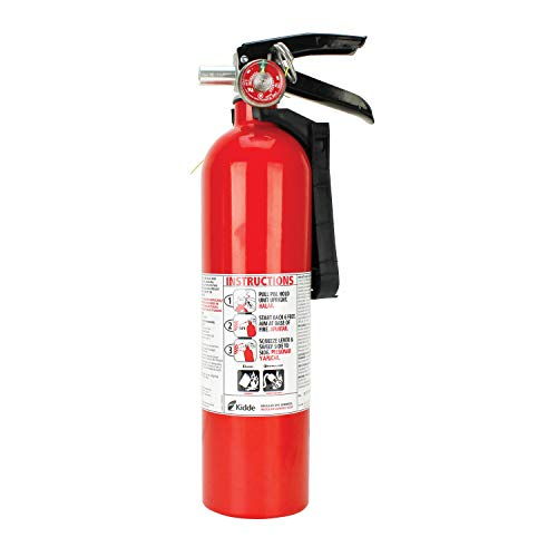 Kidde 466422K Fire Extinguisher 10-B:C Gauge, 14 1/4
