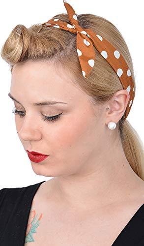 Unbekannt Cute Retro Charlotte Punkte 50s Polka Dots Haarband Rockabilly