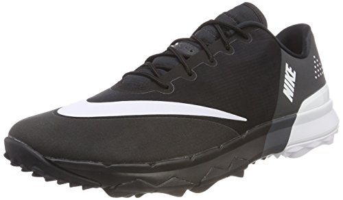 Nike Men's FI Flex Golf Shoes, Black (Black/White/Anthracite), 11.5 US -10.5 UK - 45.5 EU