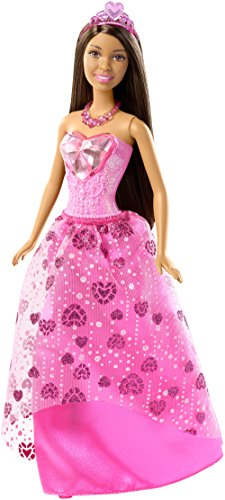 Barbie Mattel DHM60 - Dreamtopia Juwelen-Prinzessin Puppe brünette