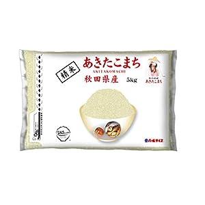【精米】 [Amazon限定ブランド] 580.com 秋田県産 白米 あきたこまち 5kg 令和2年産